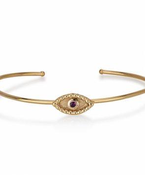 14k gold Bracelet with Ruby