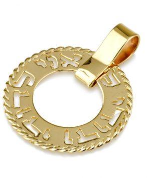 14k Gold Ani Ledodi Classic Pendant